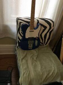 Older Squire Tele. Has a tube screamer installed