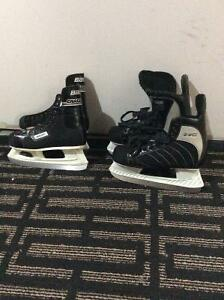 Two Pairs Boys Skates