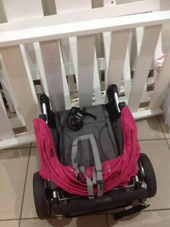 Baby bed and pram are for free