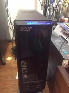 **NEW PRICE****Acer AX Desktop home computer