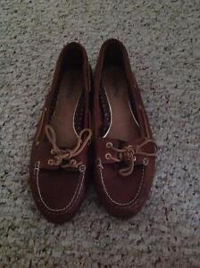 Sperry Low Rider Brown Leather Boat Shoes Edmonton Edmonton Area image 1