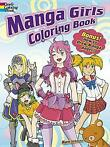 Manga Girls Coloring Book - Mark Schmitz -
