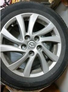 P205/55R16 - Bridgestone Turanza's on 2012 Mazda 3 Rims
