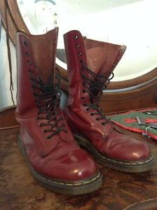 Cherry Red 14-Hole Doc Martens