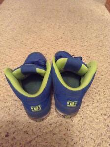 Blue and green DC Shoes size 12 Moose Jaw Regina Area image 2