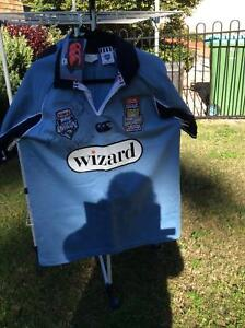 NSW 25 Anniversary State of Origin signed Jersey Bateau Bay Wyong Area Preview
