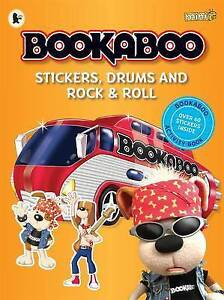 Bookaboo: Stickers, Drums and Rock & Roll, Bookaboo, New Book