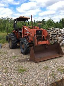 AC 6060 4X4 Tractor with loader and canopy