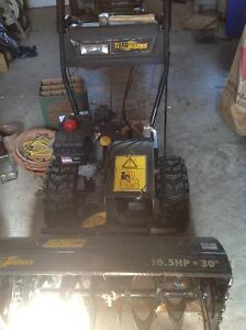 Snowblower -10 year old.  Or Best offer