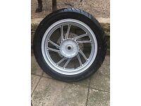 Honda sh125i abs wheels