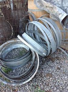 Wine barrel bands
