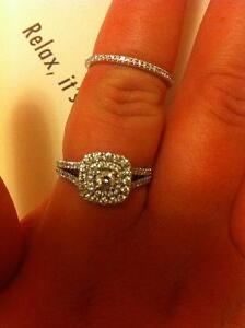 Beautiful new engagement ring and wedding band set! St. John's Newfoundland image 4