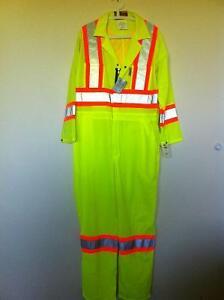 FR, Hi Viz, oilfield, road construction coveralls Strathcona County Edmonton Area image 3