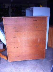 Large heavy duty dresser - good quality old