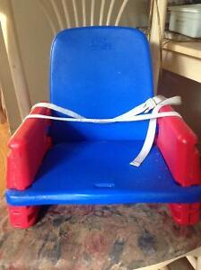 """"""" THE FIRST YEARS"""" BOOSTER SEAT, MADE OF HARD PVC"""