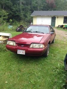 87 & 89 mustangs for sale