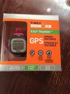 GPS Timex watch with intervals