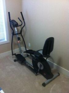pro-form hybrid trainer (2 in 1 )