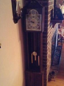 Grandfather Quarts Wstminster Chime Clock