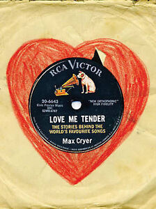 Love Me Tender: The Stories Behind the World's Best-Loved Songs,Cryer, Max,Very