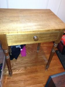 Antique solid wood occasional table for sale London Ontario image 1