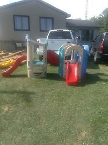 LITTLE TIKES 8in1 PLAYGROUND/CLIMBER