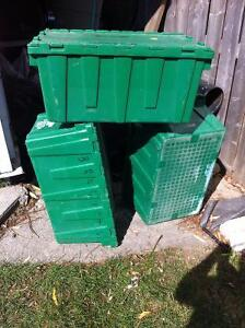 Storage boxes with hinged lids Windsor Region Ontario image 2