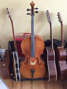 Vintage 3/4 Cello with Glasser horsehair bow (price negotiable)