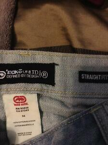"""Echo Unlimited jeans 34"""" but fits smaller Kingston Kingston Area image 3"""