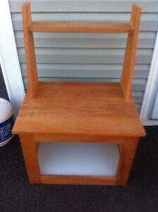 Solid Wood Stand