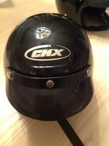 Motorcycle, snowmobile, all sport helmet, adult size extra small