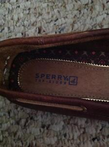 Sperry Low Rider Brown Leather Boat Shoes Edmonton Edmonton Area image 2