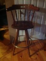 Solid wood bar stools!!