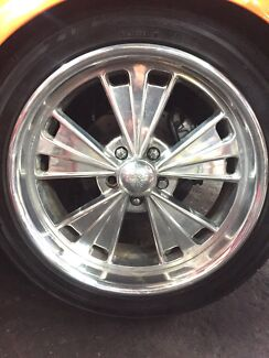 Boyd Coddington Rims and tyres