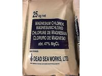 Large sack of Magnesium Chloride salts