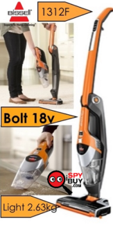 New Bissell Bolt 1312f 18V Cordless Stick Cacuum Cleaner