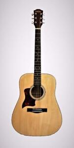Left handed acoustic guitar for beginners brand new iMusic579L iMusicGuitar