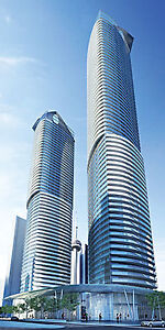 ICE CONDOS ONE BED +DEN FOR LEASE 1ST NOV