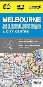 NEW Melbourne Suburbs & City Centre by Universal Publishers Pty Ltd