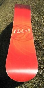 K2 Fat Bob Snow 165 cm Board With case and size 12 boots