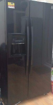 DAEWOO DRS30DSMB American-Style Fridge Freezer - Black RRP 799 | in