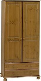 Two Pine wardrobes 100 today need gone