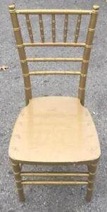 Chaise Chiavari or (gold)