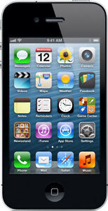 "Apple iPhone4, 16GB, black, 3.5""screen, clean IEMI report"