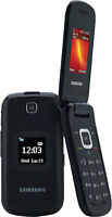 UNLOCKED Samsung SGH-S275 S275M Quad Band GSM Flip Cell Phone wi