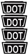 Dot Helmet Sticker