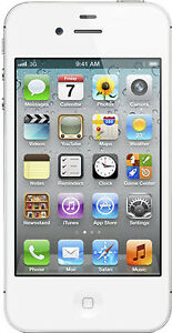 EXCELLENT Silver iPhone 4S 16 GB FIDO PHONE
