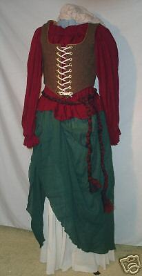 Awesome Outfit (Awesome Medieval Peasant Lady Outfit - Adult Size:14!)