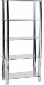 Matrix glass Display unit