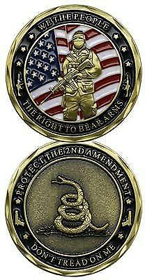 2nd Amendment Right To Bear Arms Challenge Coin
